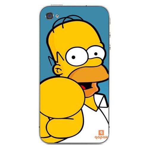 Qapak iPhone 4 Baskılı İnce Kapak uz244434011349