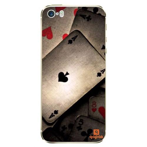 Qapak iPhone 5 Baskılı İnce Kapak uz244434011384