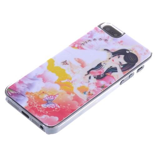 Qapak Taşlı Kapak iPhone 5/5s Renkli uz244434003043
