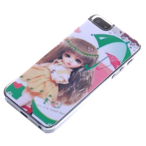 Qapak Taşlı Kapak iPhone 5/5s Renkli uz244434003048