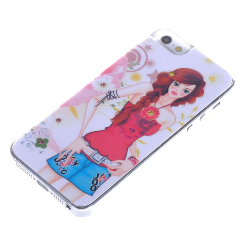 Qapak Taşlı Kapak iPhone 5/5s Renkli uz244434003051