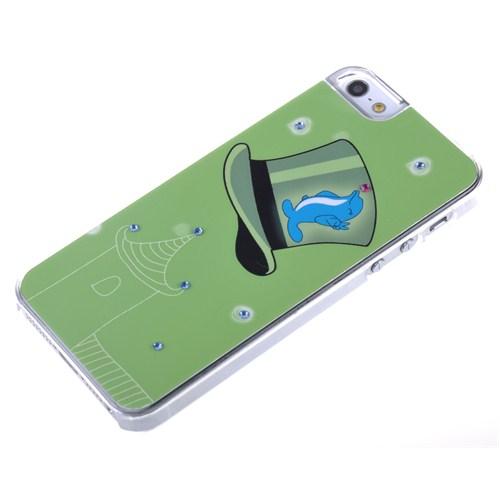 Qapak Taşlı Kapak iPhone 5/5s Renkli uz244434003095