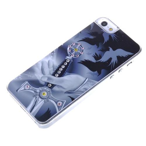 Qapak Taşlı Kapak iPhone 5/5s Renkli uz244434003098