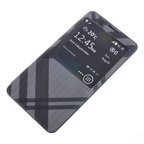 Qapak Pencereli Desenli Flipcover Kılıf Samsung Note 3 uz244434003545
