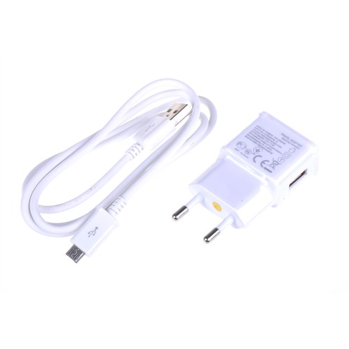 Qapaq 2 İn 1 Samsung S3/S3 Mini/S4/S4 Mini/Note2 Şarj Cihazı Beyazuz244434003953