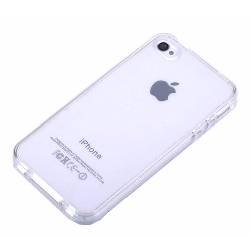 Qapak Silikon Kapak iPhone 4/4s Şeffaf uz244434007515