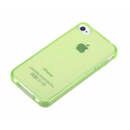 Qapak Silikon Kapak iPhone 4/4s Yeşil uz244434007517