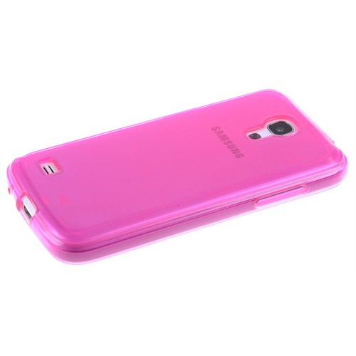 Qapak Samsung Galaxy S4 Mini Silikon Kapak Pembe uz244434007569