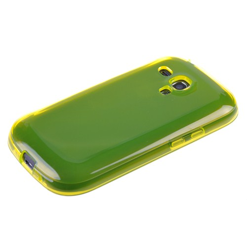 Qapak Samsung Galaxy S3 Mini Silikon Kapak Sarı uz244434007573