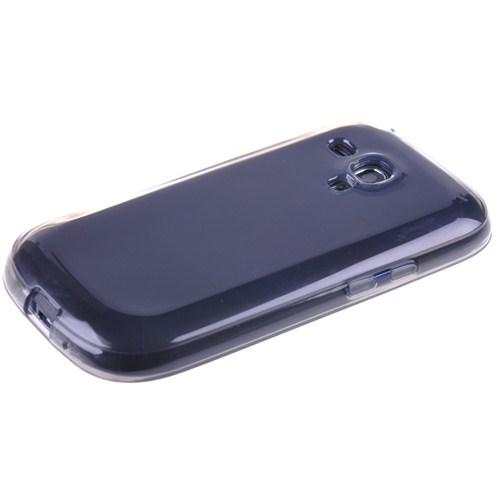 Qapak Samsung Galaxy S3 Mini Silikon Kapak Gri uz244434007575