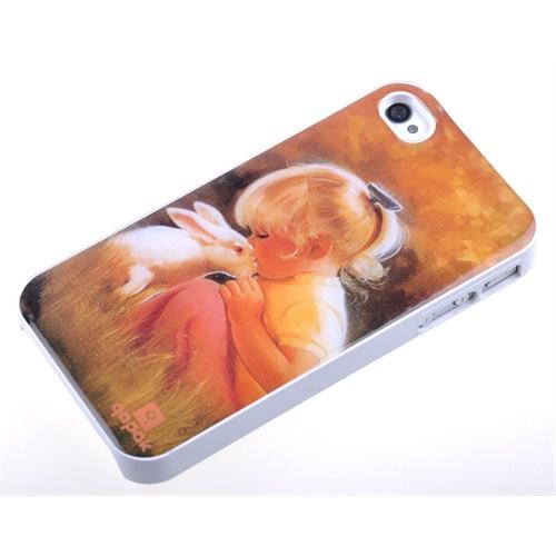 Qapak Damla Resimli Kapak iPhone 4/4S uz244434007987