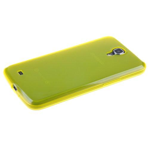 Qapak Silikon Kapak Samsung S4 Sarı uz244434008052