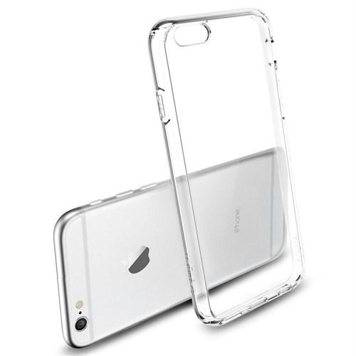 Qapak Apple iPhone 6 Plus Silikon Kapak Şeffaf uz244434009325