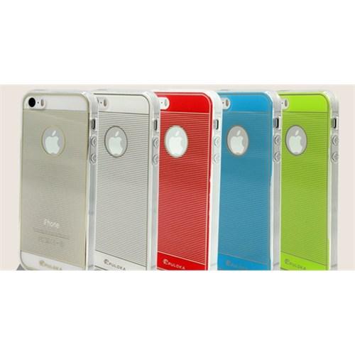 Qapak iPhone 6 Puloka Sert Desenli Slikon Kapak Pembe uz244434009377