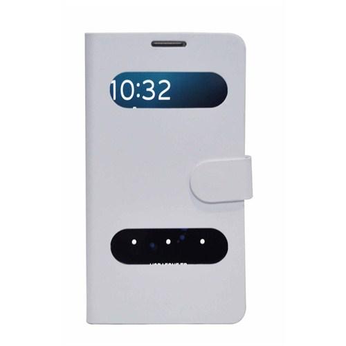 Qapak Samsung Galaxy Note 3 Mila Beyaz Kılıf + Ekran Koruyucu Hediyeli uz244434009440