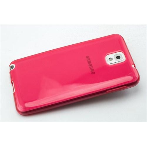 Qapak Silikon Korumalı Kapak Samsung Note 3 Kırmızı uz244434009478