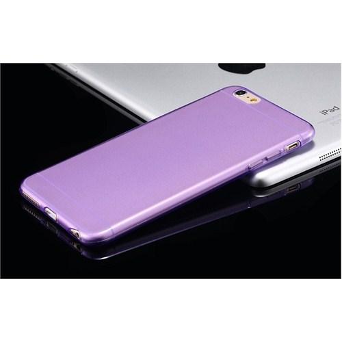 Qapak Apple iPhone 6 Silikon Kapak Mor uz244434009521