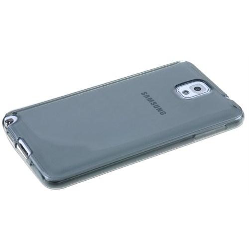 Qapak Samsung Note 4 (0,2mm) Silikon Kapak Gri uz244434009572