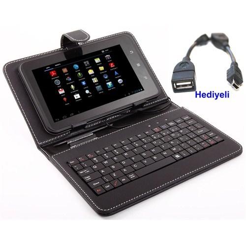 """Qapaq 7"""" Klavyeli Tablet Kılıfıuz244434009668"""
