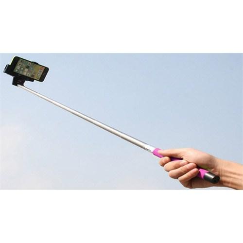 Qapaq Universal Selfie Çubuğu Pembeuz244434009692