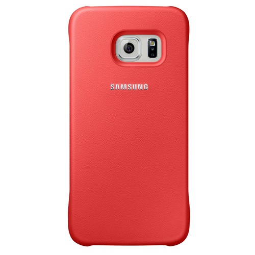 Samsung Galaxy S6 Protective Cover Arka Kapak Kırmızı - EF-YG920BPEGWW