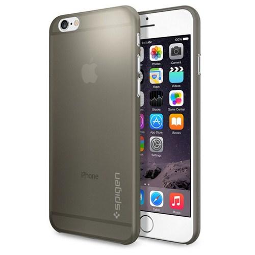 Spigen Apple iPhone 6S/6 Kılıf Spigen Air Skin Gray
