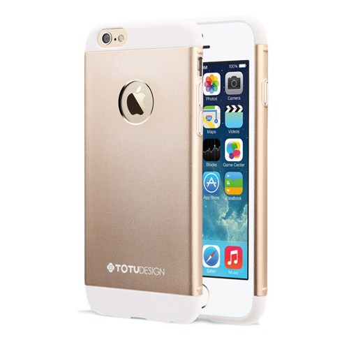 TotuDesign Apple iPhone 6 Kılıf Totu Design Knight Altın