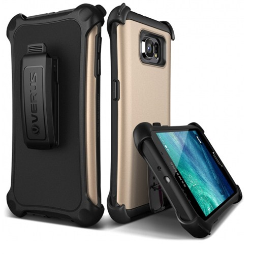 VERUS Samsung Galaxy S6 Kılıf Verus Hard Drop Active Shine Gold