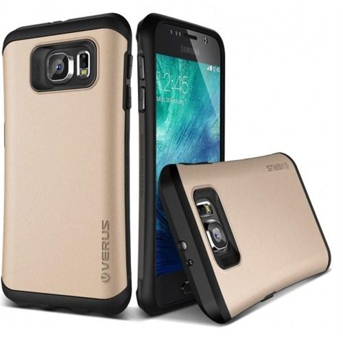 VERUS Samsung Galaxy S6 Kılıf Verus Hard Drop Thor Shine Gold