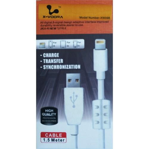 X-Voora İphone 5/5S / 6/ 6 Plus High Speed Usb Kablo