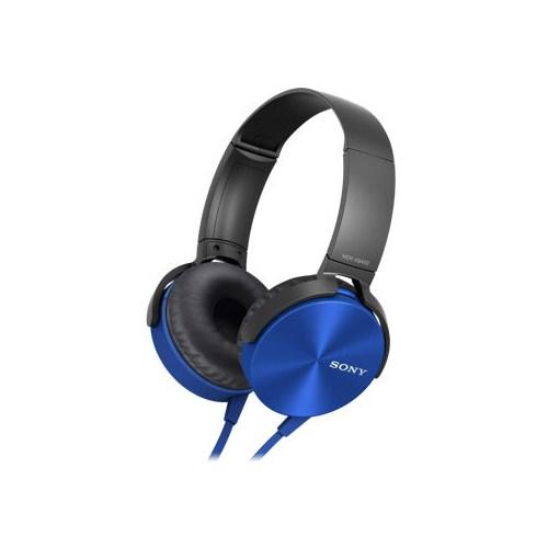 Sony Mdr-Xb450ap Mikrofonlu Extra Bass Kulaklık | Mavi