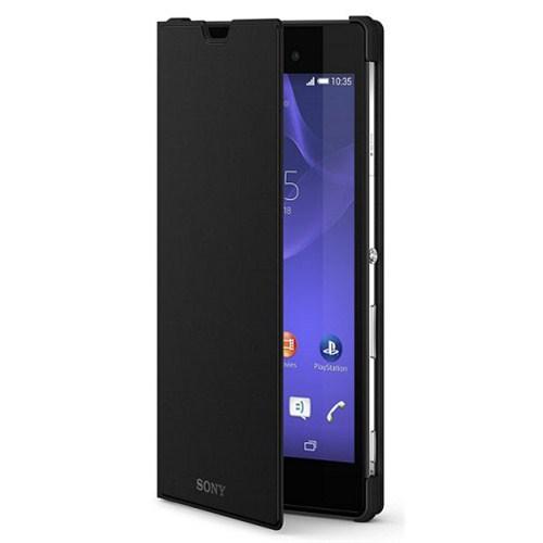 Sony Scr16 Xperia T3 İçin Standlı Kılıf   Siyah