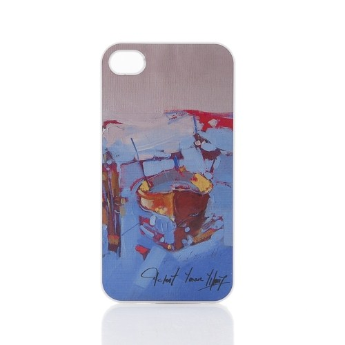Biggdesign Apple iPhone 4 Beyaz Kapak 020