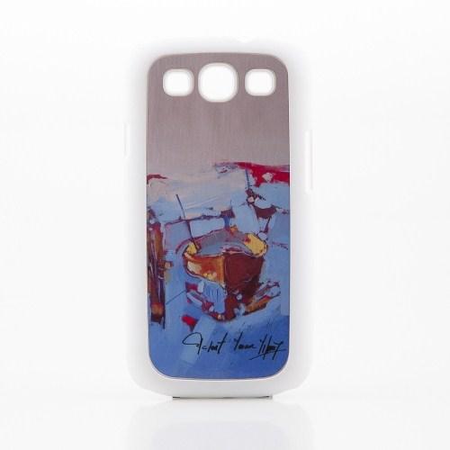 Biggdesign Samsung Galaxy S3 Beyaz Kapak 067