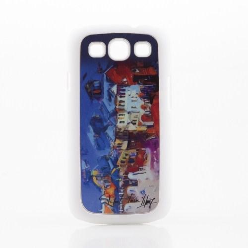 Biggdesign Samsung Galaxy S3 Beyaz Kapak 065