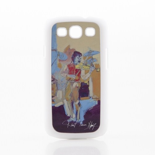 Biggdesign Samsung Galaxy S3 Beyaz Kapak 069