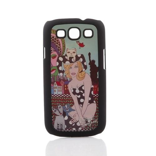 Biggdesign Samsung Galaxy S3 Siyah Kapak 054