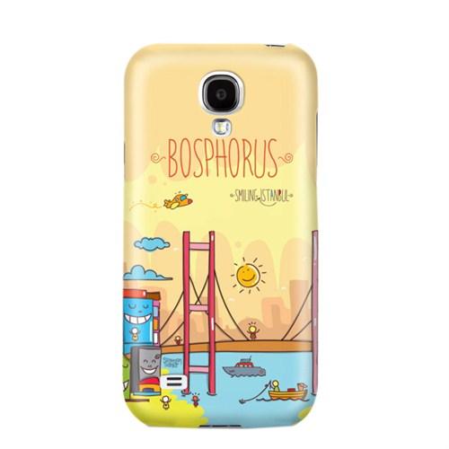 Biggdesign Smiling Istanbul Boğaz Samsung Galaxy S4 Kapak