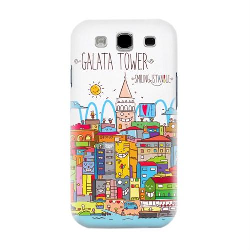 Biggdesign Smiling Istanbul Galata Samsung Galaxy S3 Kapak