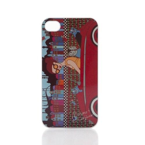 Biggdesign Apple iPhone 5 Beyaz Kapak 033