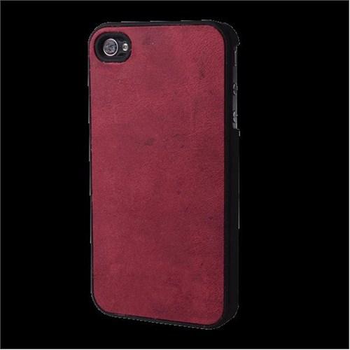 Biggdesign Jacketcase Antic Red Apple iPhone 4/4S