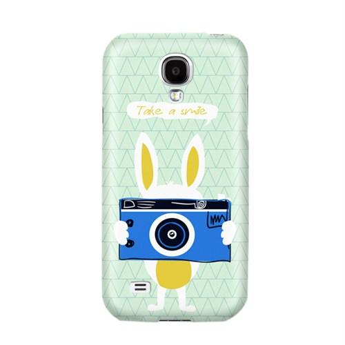Biggdesign Take A Smile Samsung Galaxy S4 Kapak