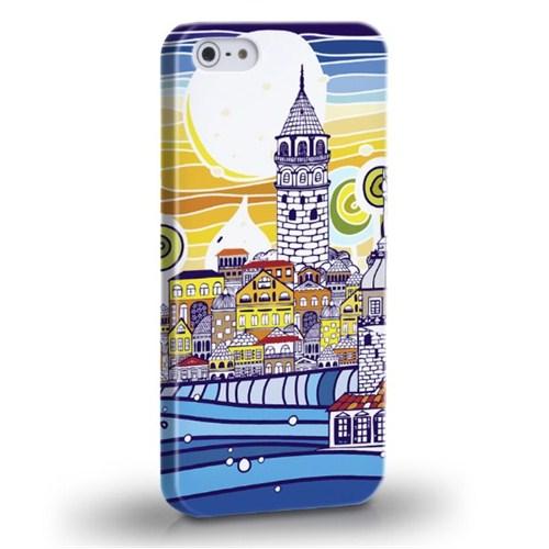 Biggdesign İstanbul Galata Apple iPhone 5/5S Kapak
