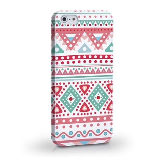 Biggdesign Etnik Pembe Apple iPhone 4/4S Kapak