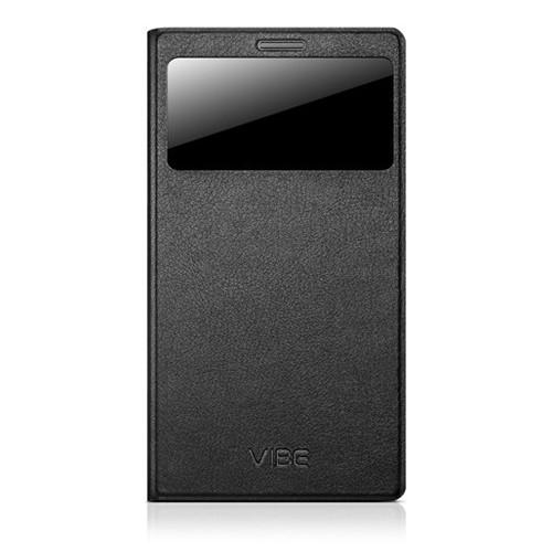 Lenovo VIBE Z2 Pro Smart Flip Cover Kapaklı Kılıf Siyah - PG39A6N3YH