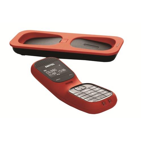 Switel DF 851 Colombo Kırmızı Dect Telefon