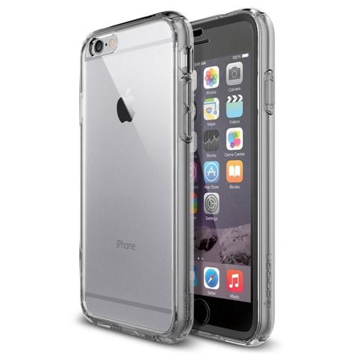 Spigen Sgp Apple iPhone 6 Kılıf Ultrahybrid FX (Ekran koruma eklentisiyle 360 derece koruma) Space Crystal - SGP11363