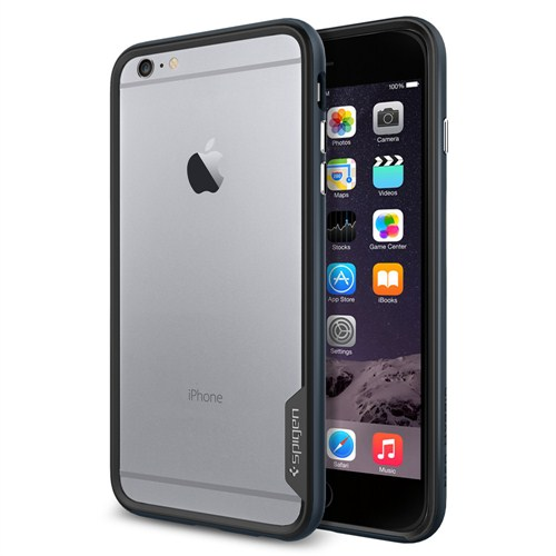 Spigen Apple iPhone 6s Plus/6 Plus Kılıf Neo Hybrid EX Metal Slate - 11056