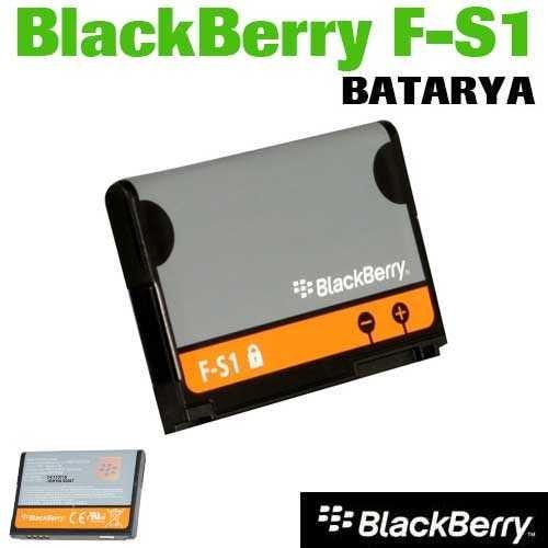 Carda Blackberry F-S1 Batarya