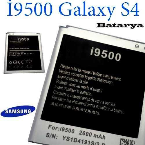 Carda İ9500 Galaxy S4 Batarya